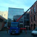 Установка и замена стекол и стеклопакетов на высоте