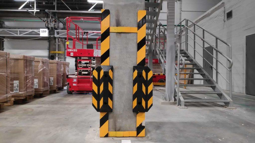 Защита колонны от повреждений