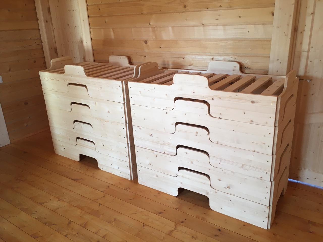 Детские кроватки из дерева