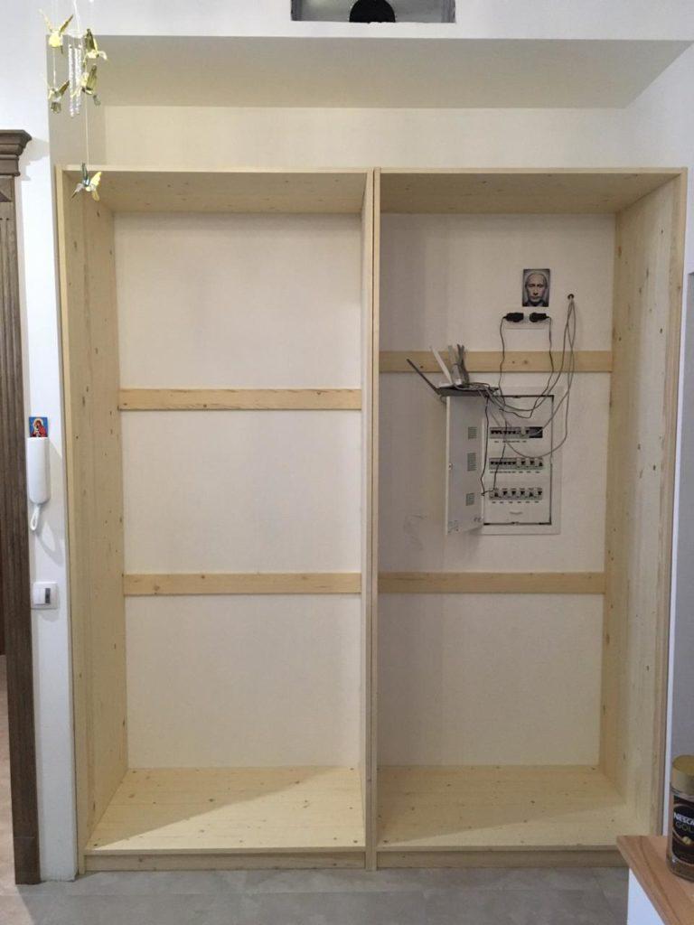 шкаф из сосны